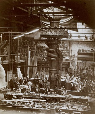 L'atelier de Gustave Eiffel