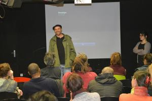 Pascal Tessaud, réalisateur venu présenter son film Brooklyn
