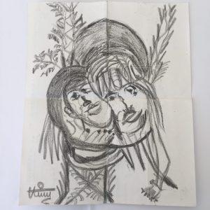 Les amoureux, par Nabeel